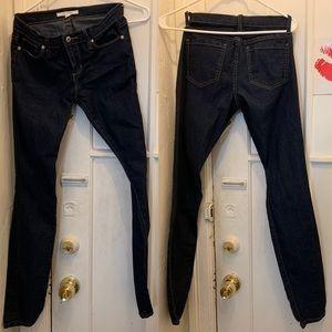F21 Skinny Jeans Dark Wash Good Condit MidRise 26